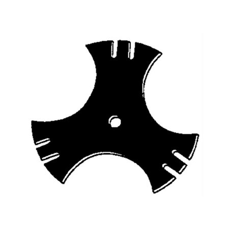 OEM-781-0748 MTD Edger Blade 9-Inch 3 Sided Star, Fits edgers that require a 9 (22.9 cm) blade with 5/8 (1.59 cm) center hole By (154 Cm Steel Blade)