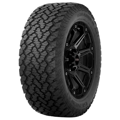 P255/65R16 General Grabber AT2 109T B/4 Ply BSW Tire