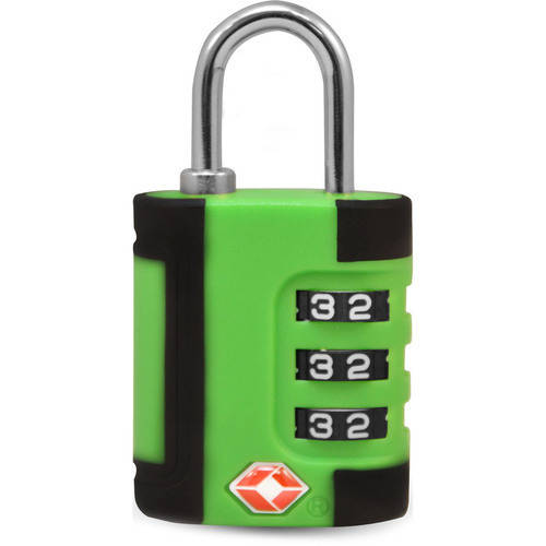 TraverGo Two Tone 3 Digit Combination Lock, Blue TR1100BL