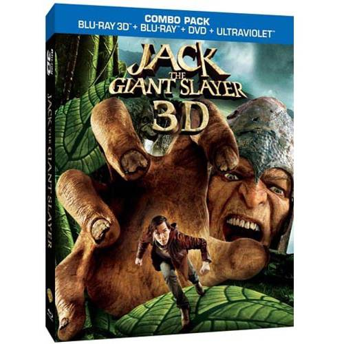 Jack The Giant Slayer (3D Blu-ray + Blu-ray + DVD + UltraViolet) (Walmart Exclusive) (With INSTAWATCH) (Widescreen)