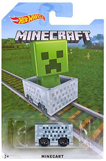 Hot Wheels Minecraft Creeper Minecart by Mattel