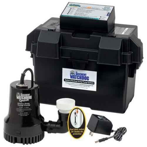 The Basement Watchdog Special Backup Sump Pump System