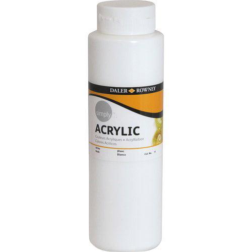 Simply Acrylic 750ml Paint, White
