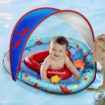 Shark Grow-with-Me BabyBoat With 3 Toys