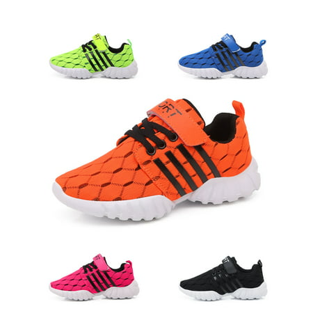 Kids Tennis Shoes Breathable Running Shoes Walking Shoes Fashion Sneakers for Boys and Girls (Boys Nike Free Running Shoes)