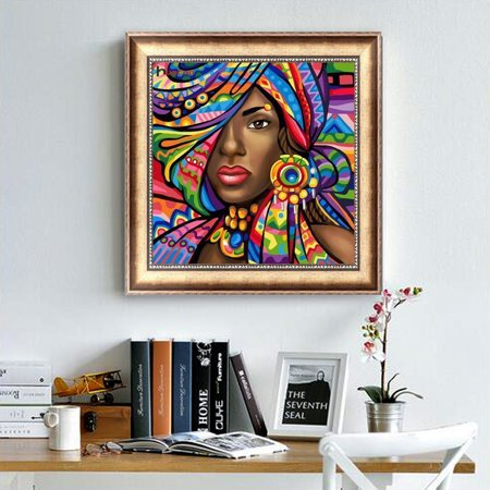 5D Frameless Girl Patterns Diamond Embroidery DIY Craft Painting Cross Stitch Home Decor Art Kit