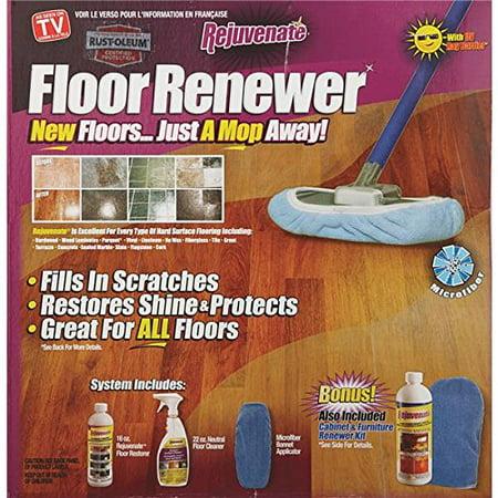 Rejuvenate Floor Renewer Kit W Floor Restorer Surface And Cabinet