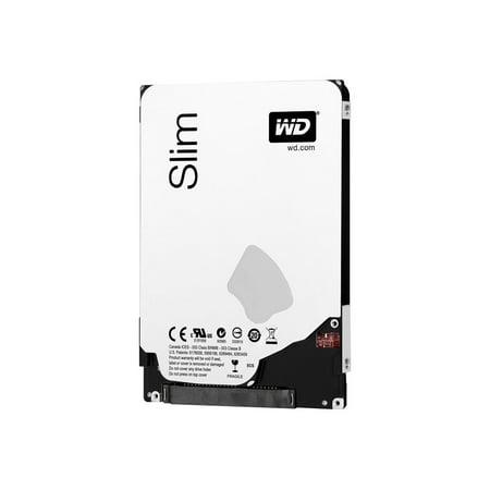 """WD Blue WD5000LPVT - Hard drive - 500 GB - internal - 2.5"""" - SATA 3Gb/s - 5400 rpm - buffer: 8 MB - RoHS"""