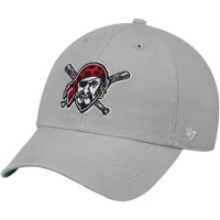 3babd24dadf5c Product Image Pittsburgh Pirates  47 Primary Logo Franchise Fitted Hat -  Gray