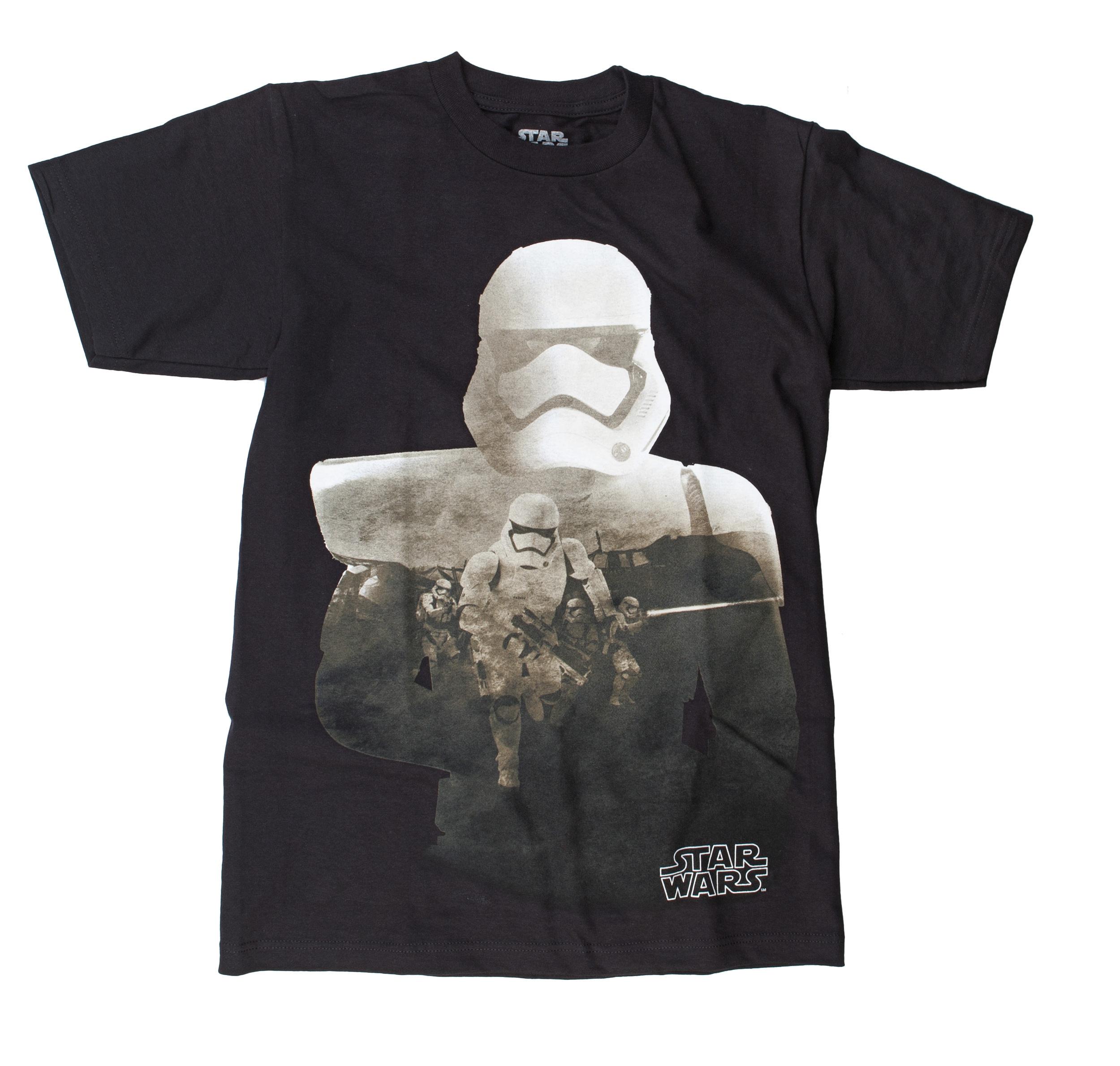 Star Wars VII: The Force Awakens Stormtrooper Filled Silo T-Shirt   2XL