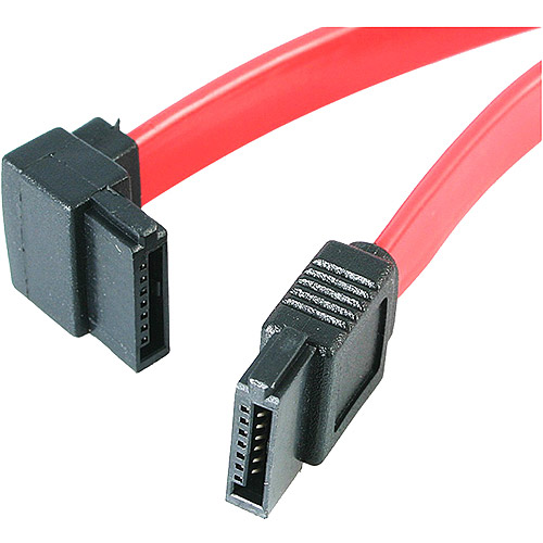 "StarTech LSATARND24 24/"" Latching Round SATA Cable 2-ft"