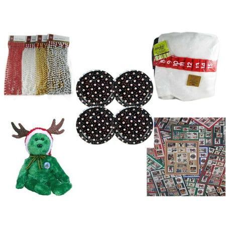 Christmas Fun Gift Bundle [5 Piece] - Brite Star Assorted Bead Garland 18
