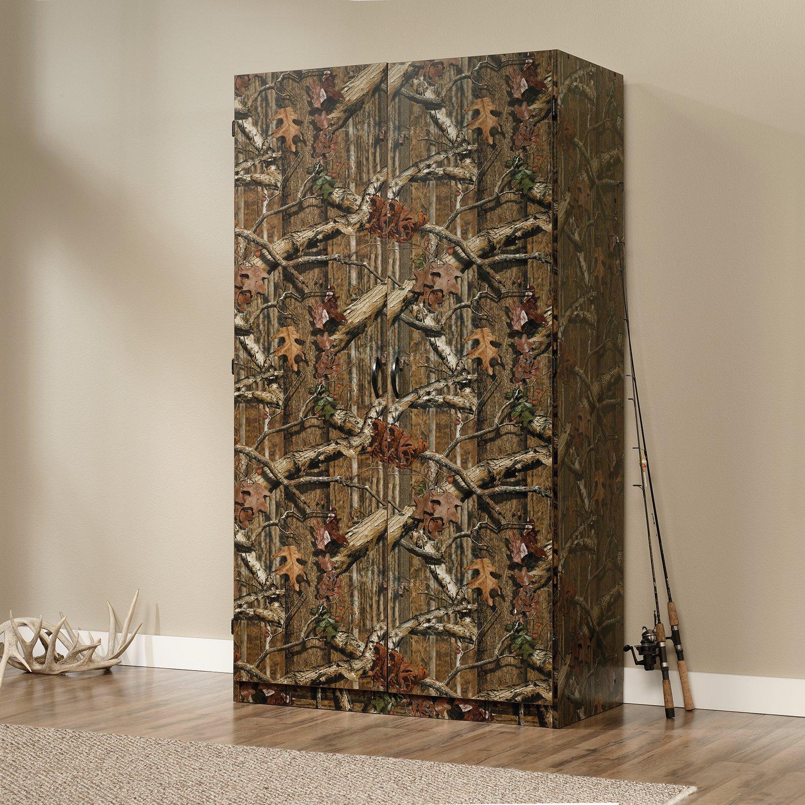Sauder Wardrobe / Storage Cabinet - Highland Oak