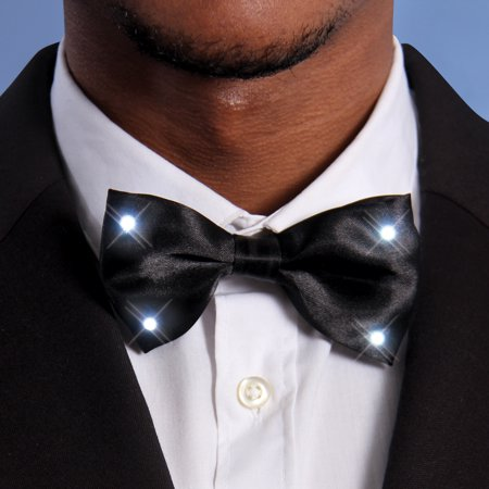 FlashingBlinkyLights Bow Tie with LED Lights](Led Necktie)