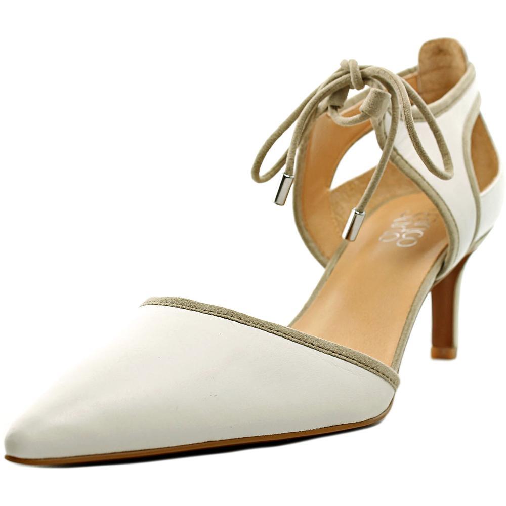 Franco Sarto Darlis Pointed Toe Leather Heels by Franco Sarto