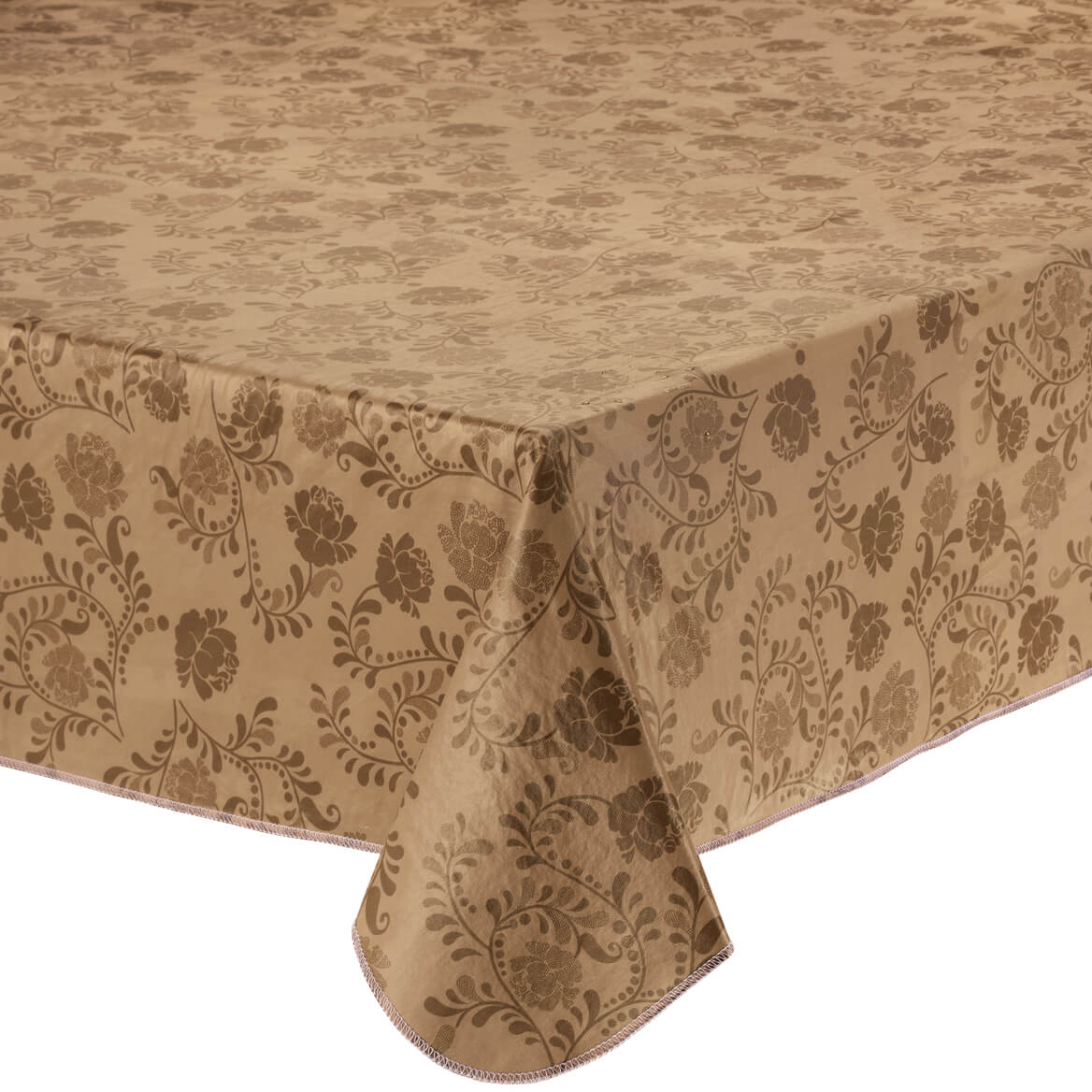 """The Kathleen Vinyl Table Cover by HSK 70"""" Round"""