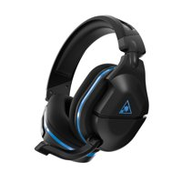 Stealth 600 Gen 2 Wireless Gaming Headset with Superhuman Hearing, Black/Blue, Turtle Beach, PlayStation 4, PlayStation 4 Pro