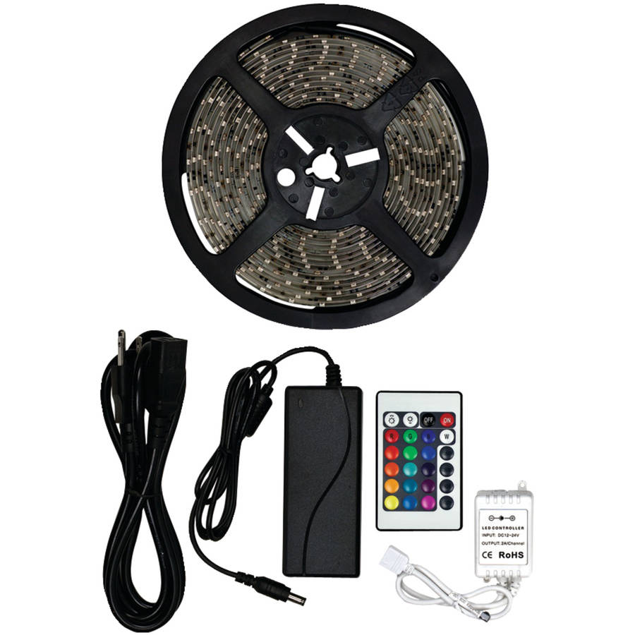 Audio Solutions AS-RGB5MK RGB 5050 LED Strip Kit, 16.4'
