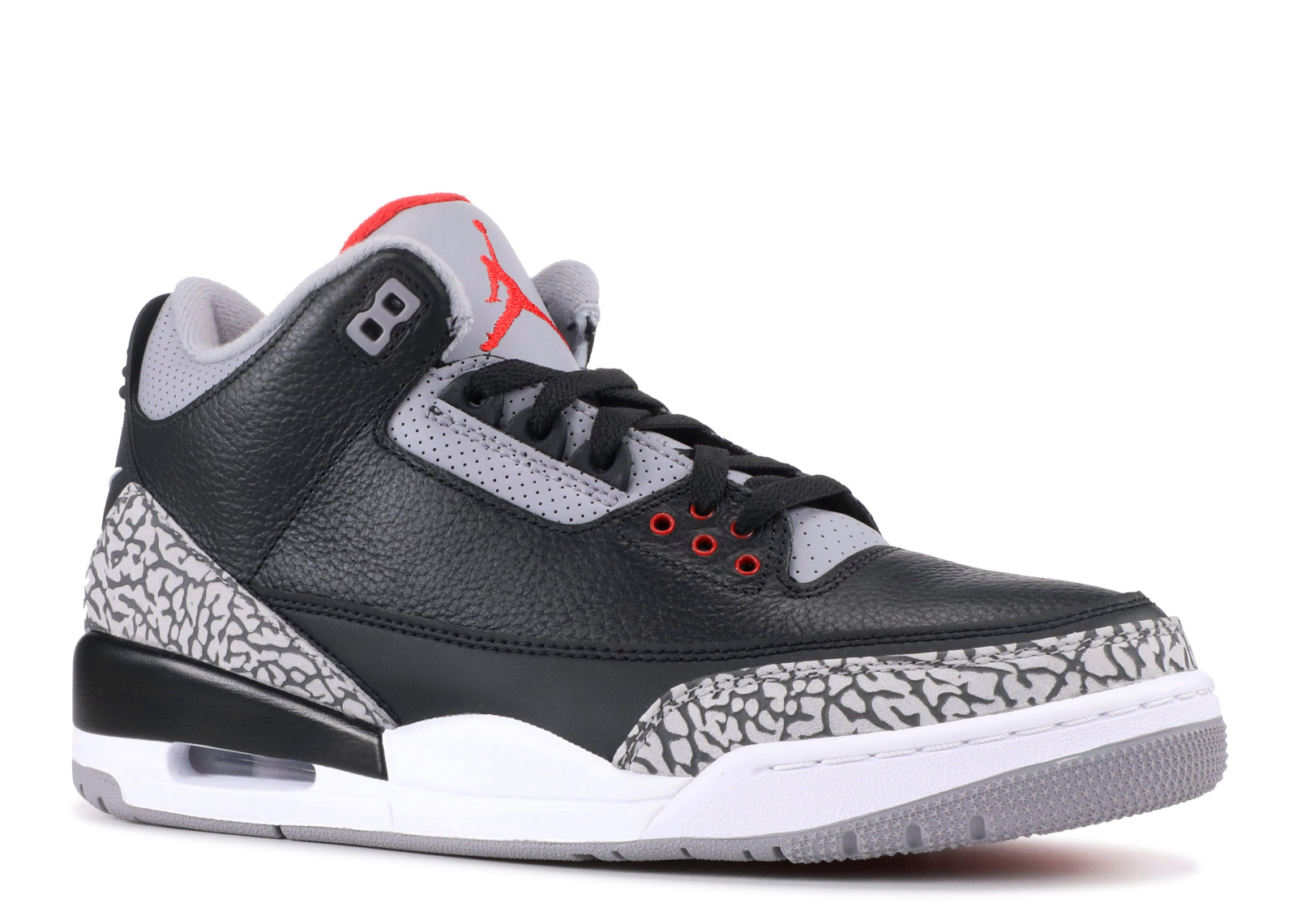 f81ce4a6f7e6 Air Jordan - Men - Air Jordan 3 Og Retro Og  Black Cement 2018  - 854262-001  - Size 16