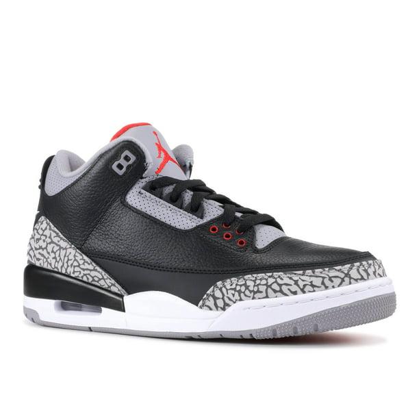 Air Jordan 3 Og Retro Og 'Black Cement 2018' - 854262-001 - Size 7.5 - Mens