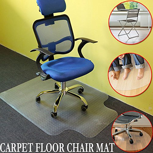 Sturdy Home Office Chair Mat For Carpet Floor Protection Walmart Com Walmart Com