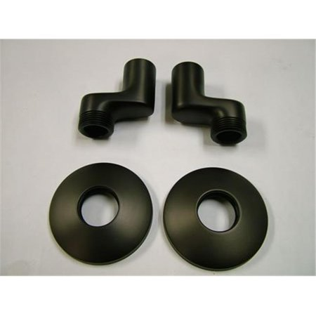 Swivel Elbow for Wall Mount Kitchen Faucet KS213, KS214 & KS265, Oil Rubbed Bronze California Faucets Supply Elbow