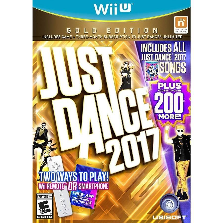 Just Dance 2017 Gold Edition (Wii U)