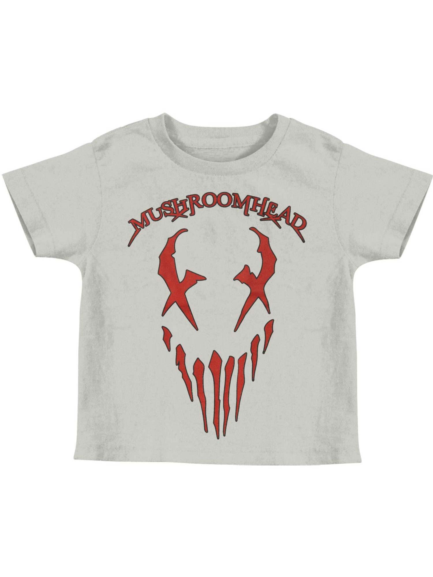 Mushroomhead Boys' X Face Childrens T-shirt Silver