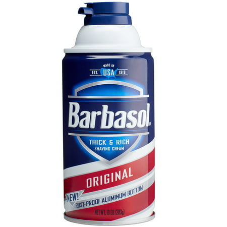Barbasol Original Thick & Rich Shaving Cream for Men, 10 oz.