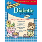 Busy People's Diabetic Cookbook (Hardcover)