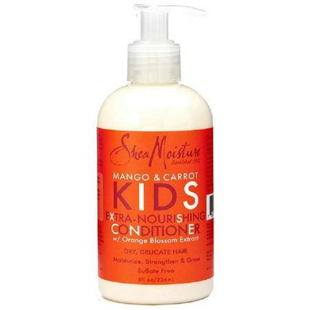 Shea Moisture Kids Extra-nourishing Conditioner, Mango & Carrot 8 oz (Pack of 3)