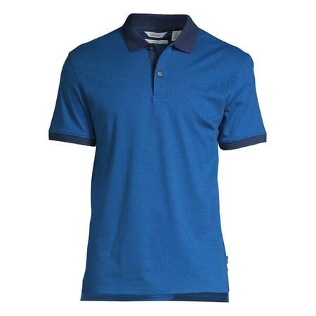 Liquid Touch Cotton Polo Shirt (Calvin Klein Short Sleeve Polo Shirt)