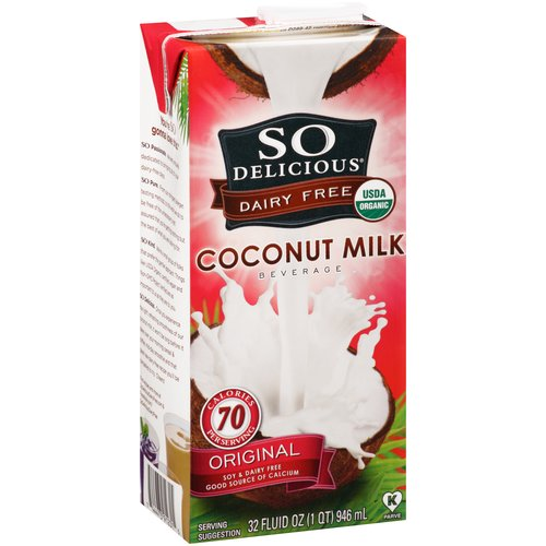 So Delicious Original Coconut Milk Beverage, 32 fl oz