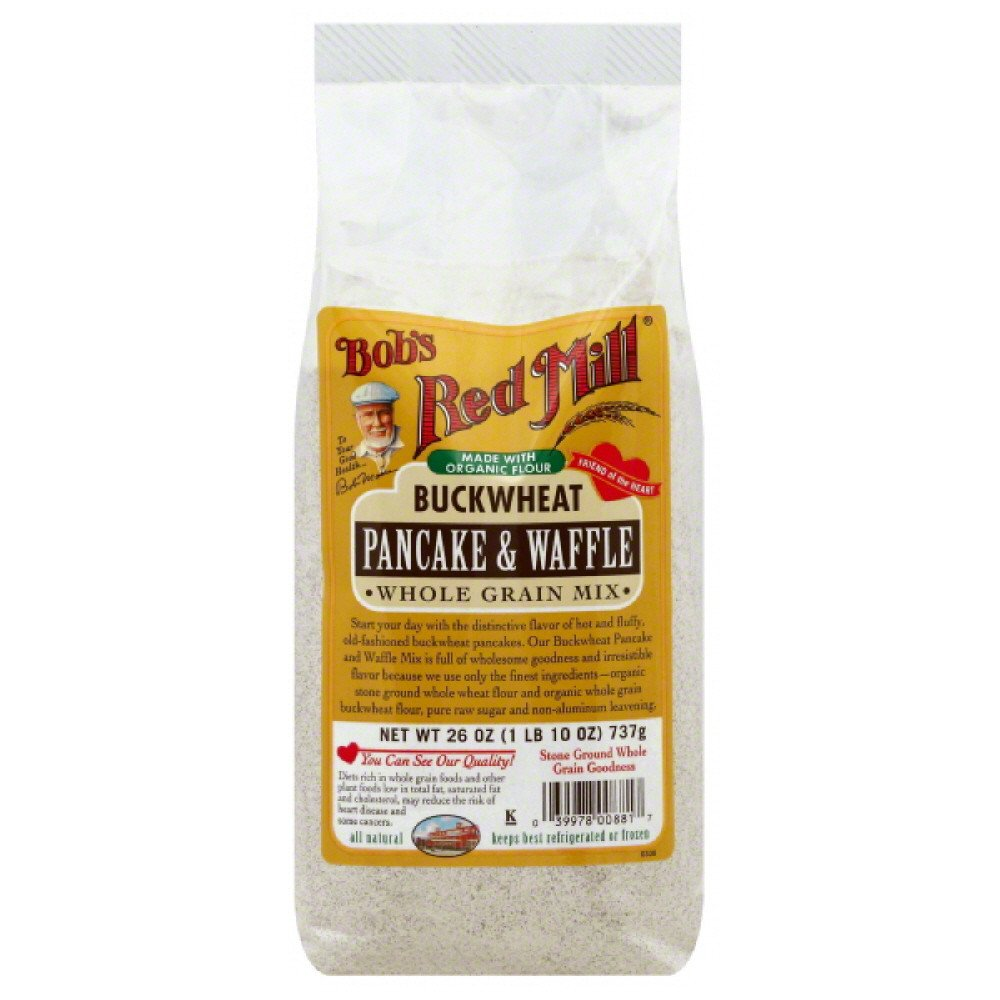 Bob's Red Mill Buckwheat Pancake and Waffle Mix - 26 oz - Case of 4