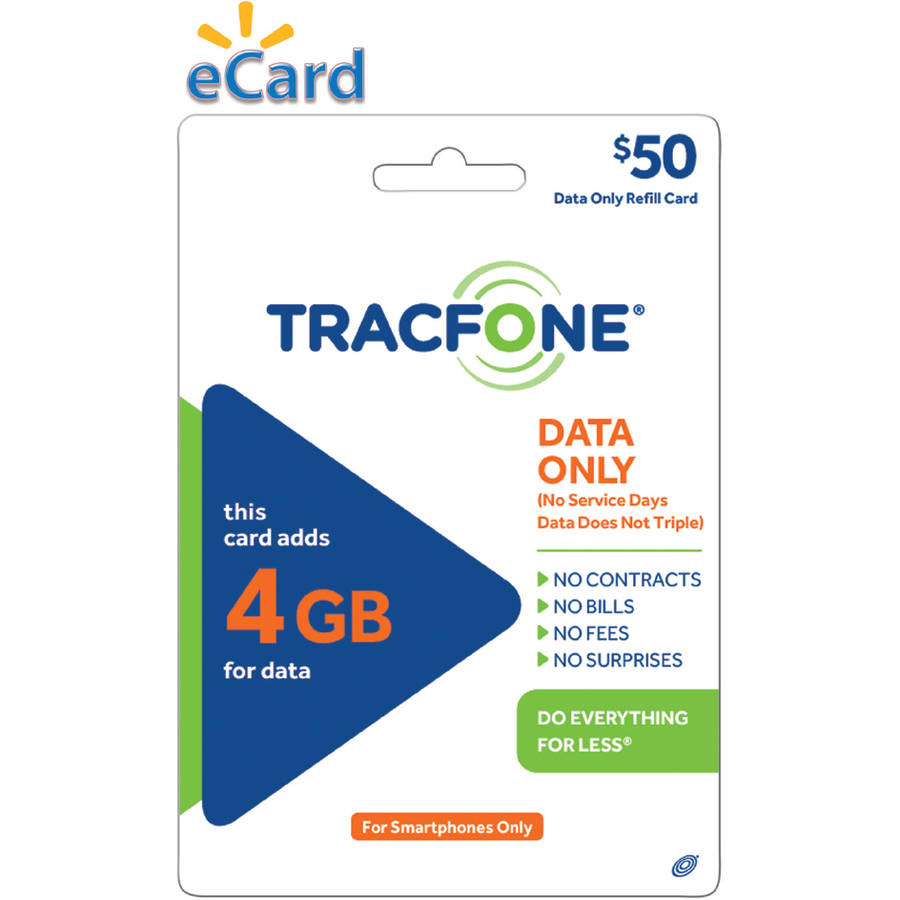 TRACFONE 4GB Data $50 (Email Delivery)