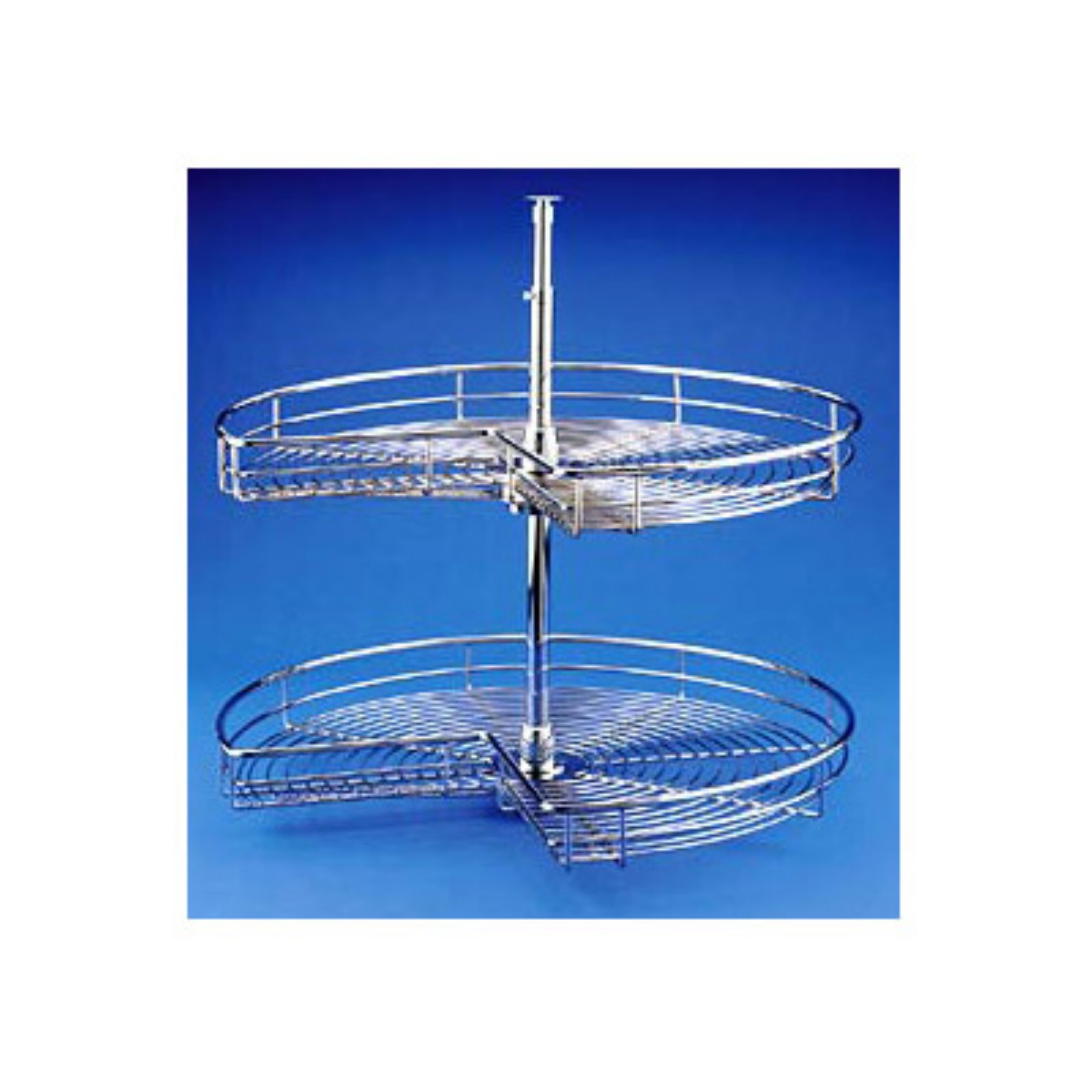 Rev-a-Shelf Premium Wire Kidney 2 Shelf Lazy Susan