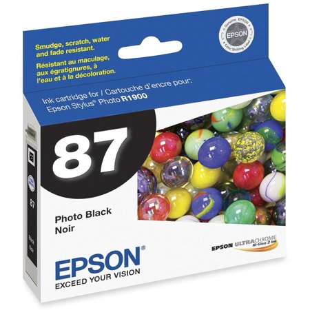 Epson, EPST087120, T087120 Series Ink Cartridges, 1 Each
