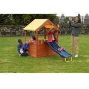 Sportspower Encinitas Wood Playhouse with Slide