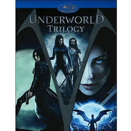Underworld Trilogy: Underworld (2003) / Underworld: Evolution / Underworld: Rise Of The Lycans (Blu-ray) (With BD-Live)  (Underworld Rise Of The Lycans Streaming Vf)