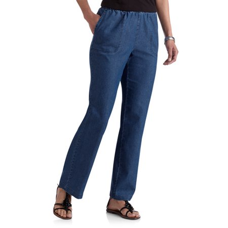 3235bac116554 White Stag - Women's Comfort Waist Pull On Jeans, Petite - Walmart.com