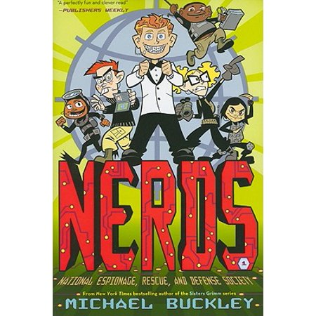 National Espionage, Rescue, and Defense Society (Nerds Book One) (Paperback)](Mr Nerd)