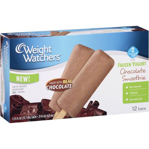 Weight Watchers Chocolate Smoothie Frozen Yogurt Bars, 1.75 fl oz, 12 count