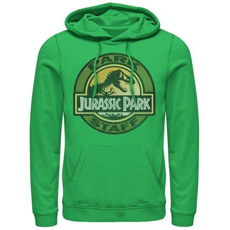 Badge Sweatshirt - Jurassic Park Men's Staff Badge Hoodie