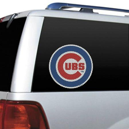 Mlb Window Film (MLB Chicago Cubs Die Cut Window Film, Vinyl By Fremont)