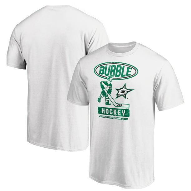 Fanatics Dallas Stars Fanatics Branded 2020 Stanley Cup Playoffs Bound Bubble Player T Shirt White Walmart Com Walmart Com