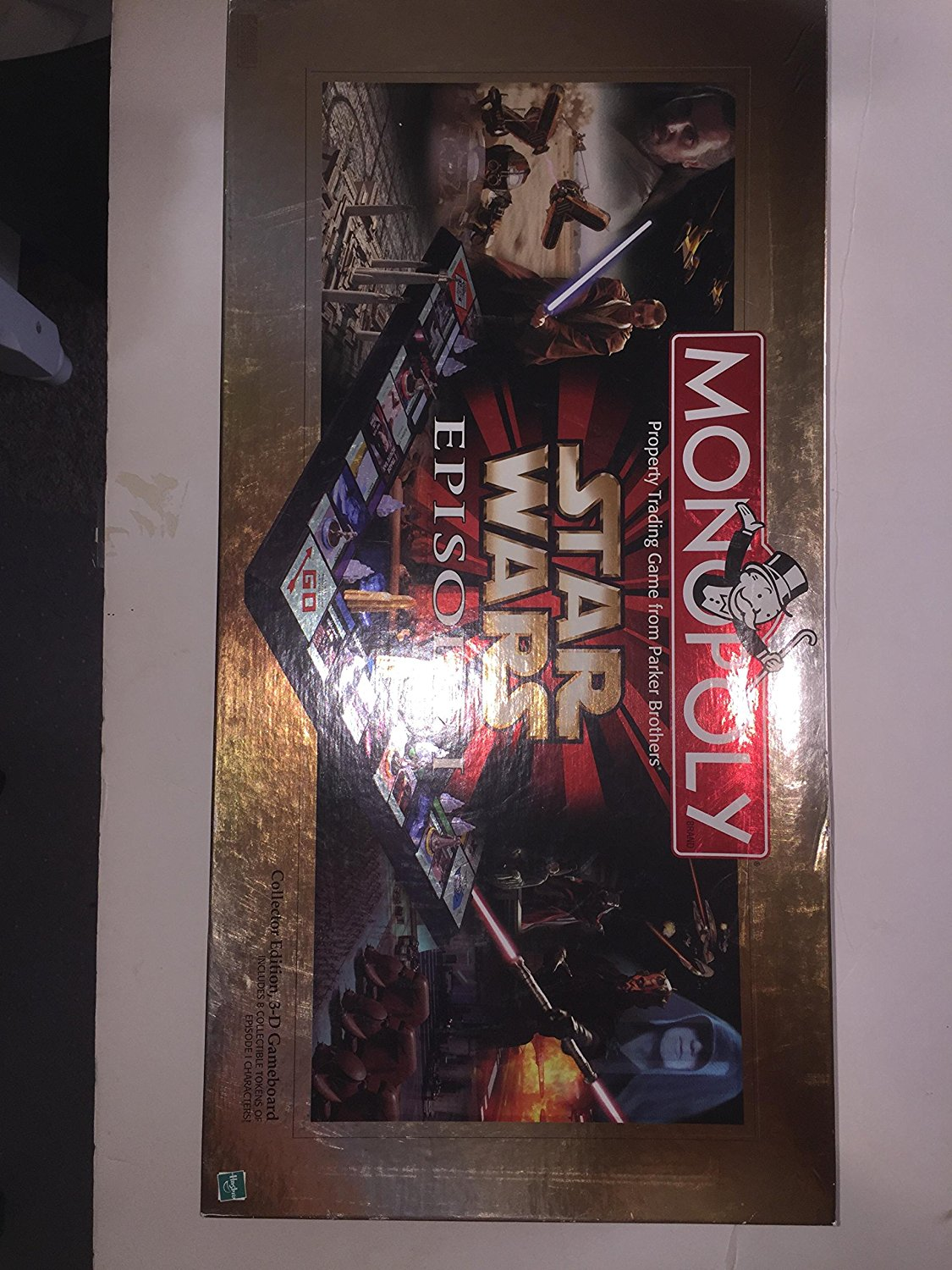 Monopoly Star Wars Episode I Board Game Made by, Monopoly in the Star Wars setting! By Hasbro by
