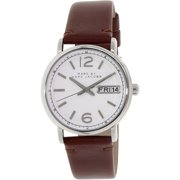 Women's Fergus MBM8649 Brown Leather Quartz Watch