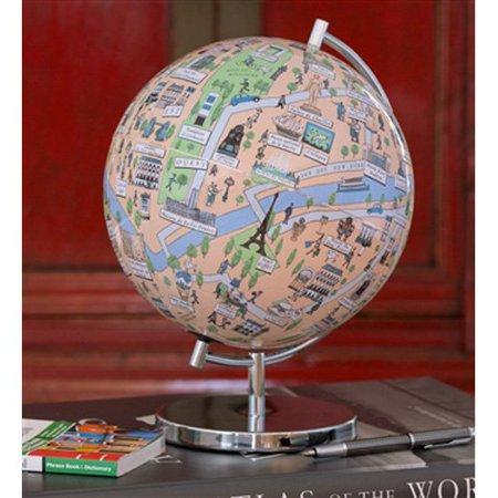 Waypoint Geographic Paris Globee Globe