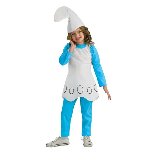 Costumes For All Occasions Ru884268Md Smurfette Child Medium