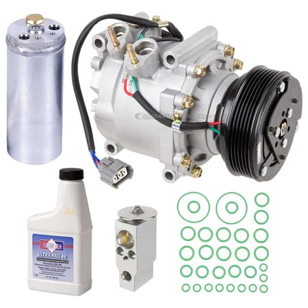 AC Compressor w/ A/C Repair Kit For Honda Civic 2002 2003 2004